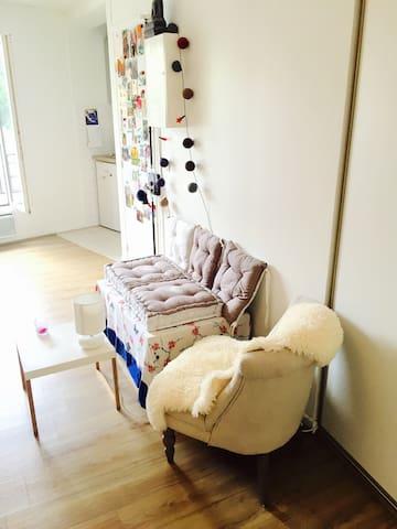 Charmant studio Proche Paris Ligne 11