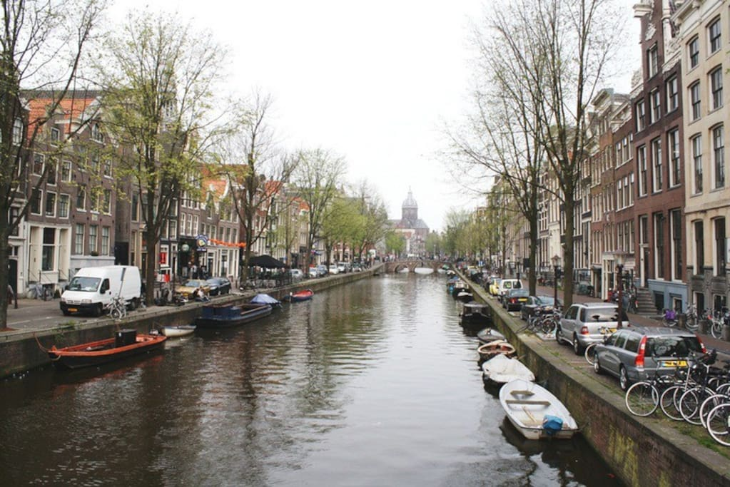 One of the oldest canals where our apartment is.