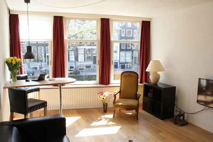 Living in a canal house - Amsterdam