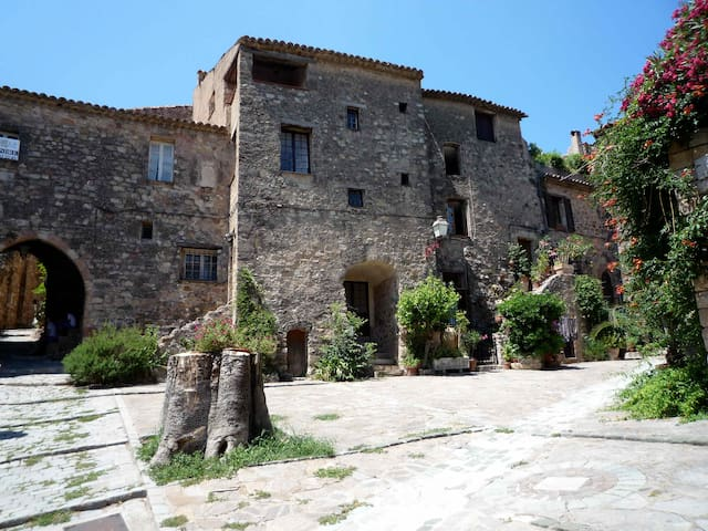 Romantic Medieval Tower House - Les Arcs - Casa