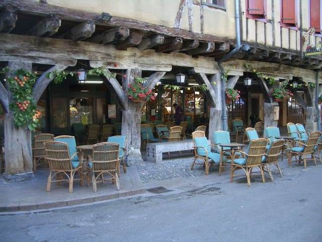 Labyrinth  house in Mirepoix centre  sleeps 12