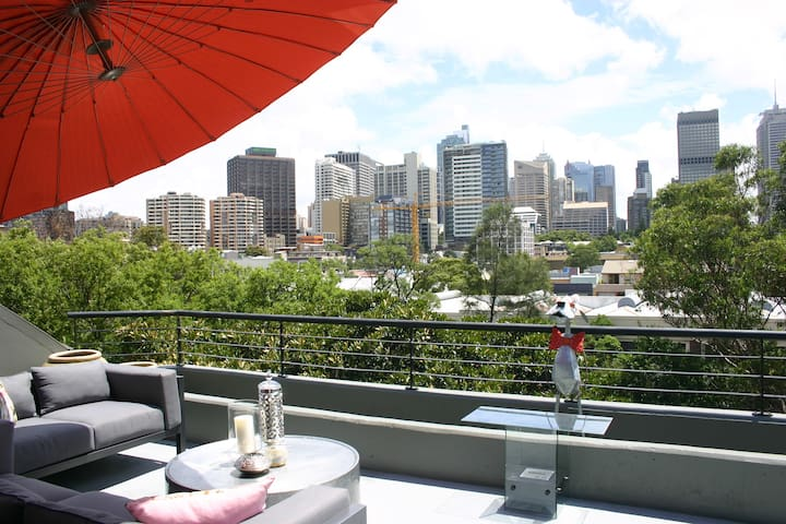 Luxury Penthouse Apartment In Heart Of The City... - Darlinghurst - Lägenhet