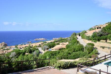 Villino panoramico a mezza costa - コスタパラディソ - 別荘