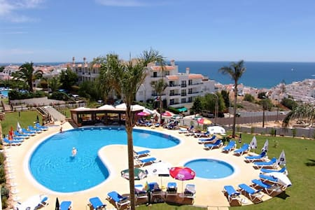 Spacious apartment with large balcony & ocean view - Albufeira