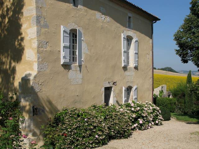 18th century house, magical views