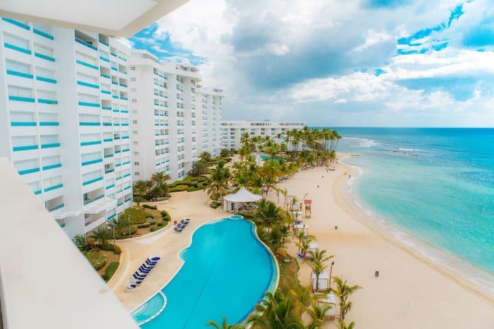 Beach Front Ap Juan Dolio Marbella - Playa Juan Dolio - Apartment