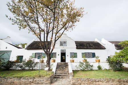 Yellow Wood House - CAPE DUTCH QUARTERS - Tulbagh - Hus