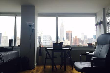 Quiet, Private, Safe studio by the Empire State - New York