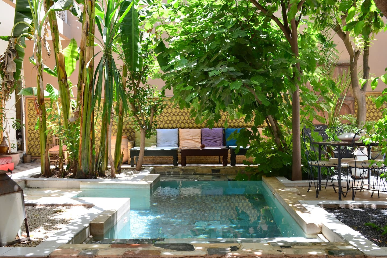 garden/pool view room