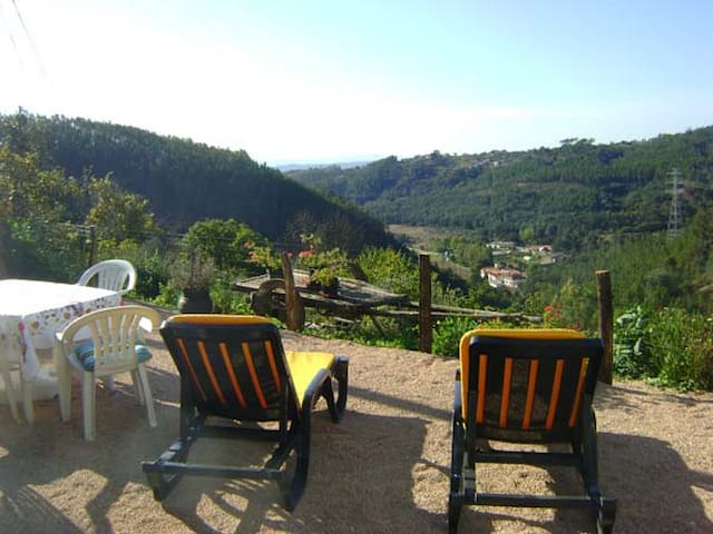 Casa de Xisto, fabulous views! - Arganil - House