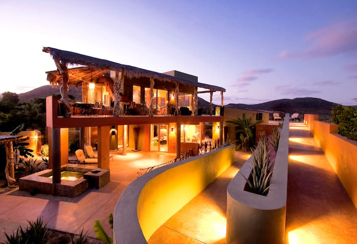 Luxury Home - Ocean View - Cabo Pulmo - Huis