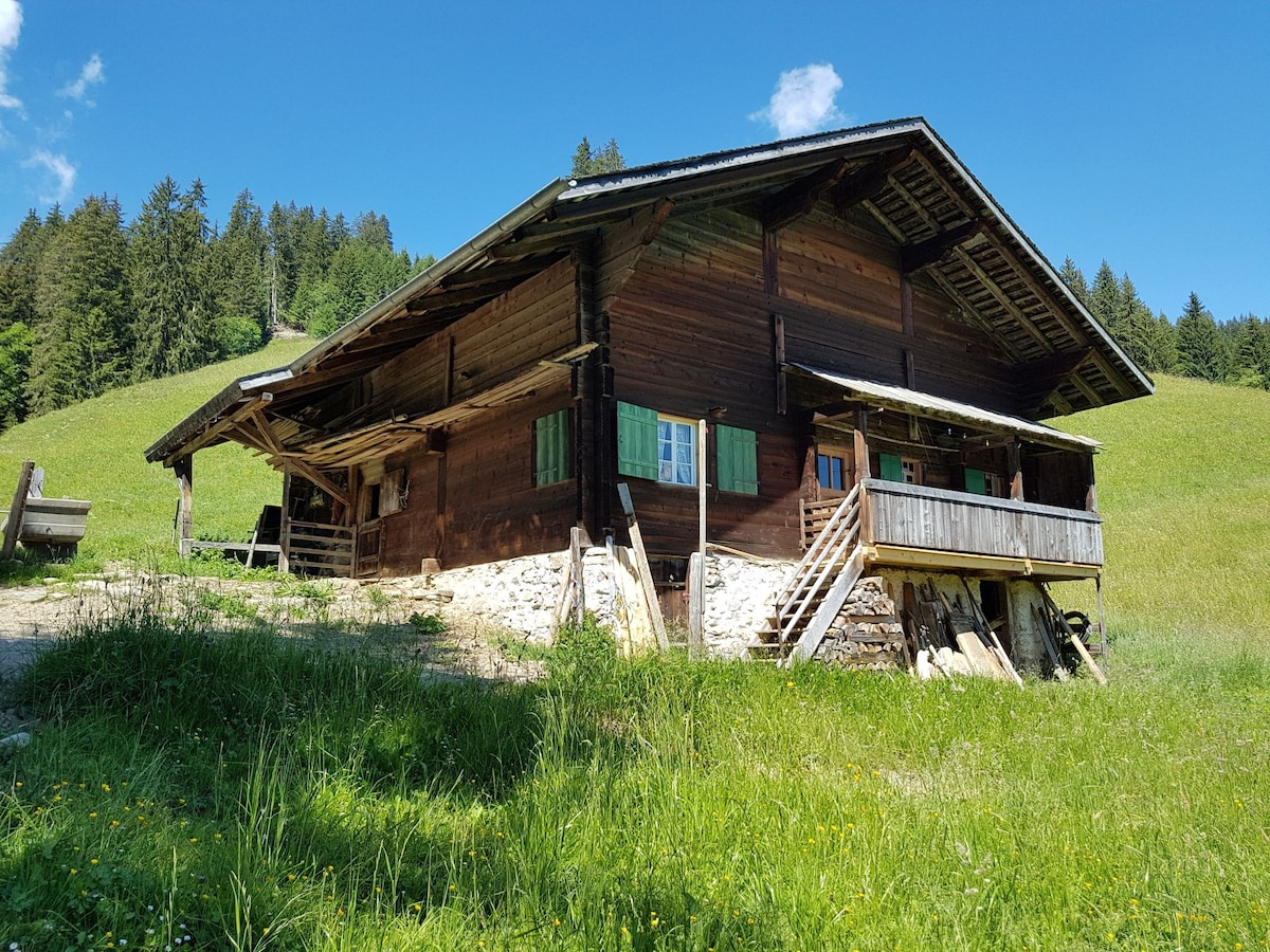 simple pre-grazing hut for five, sankt stephan