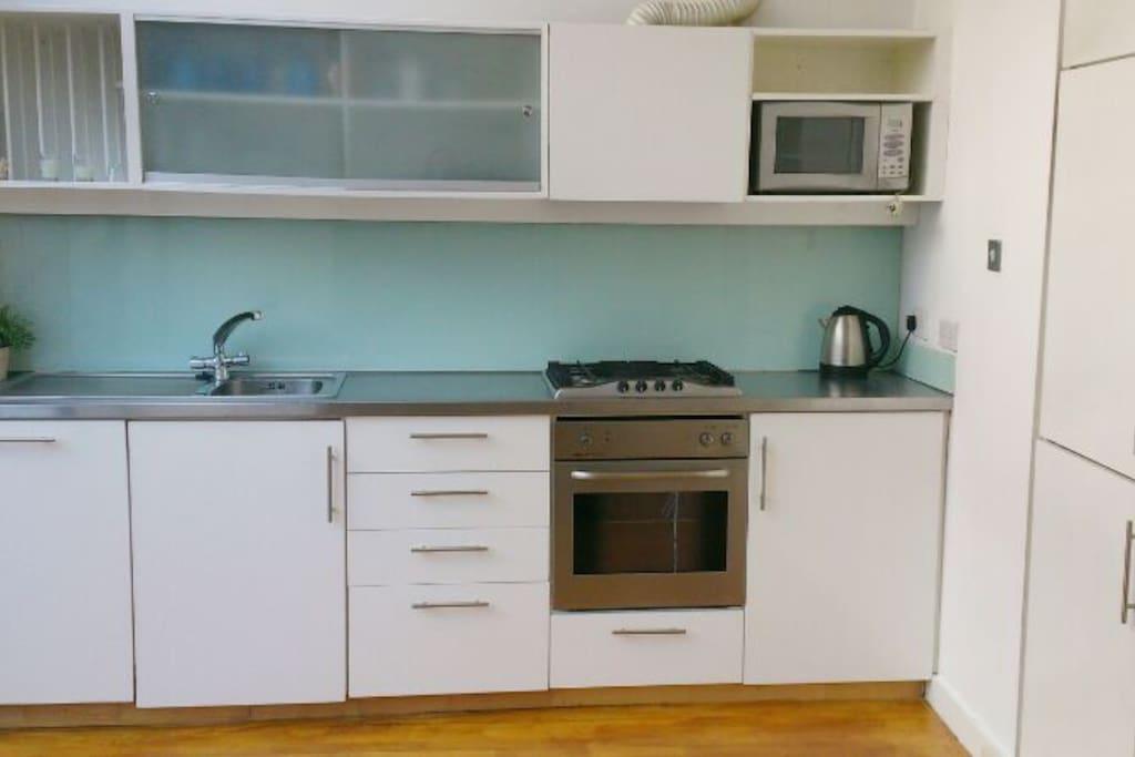 Full use of microwave, kettle, fridge, freezer, dishwasher, oven, hobs, etc.