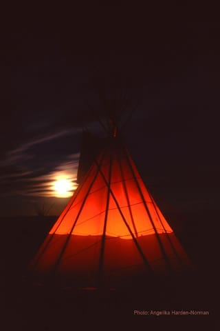 Blackfeet Tipi Village 2 - Browning - Tipi