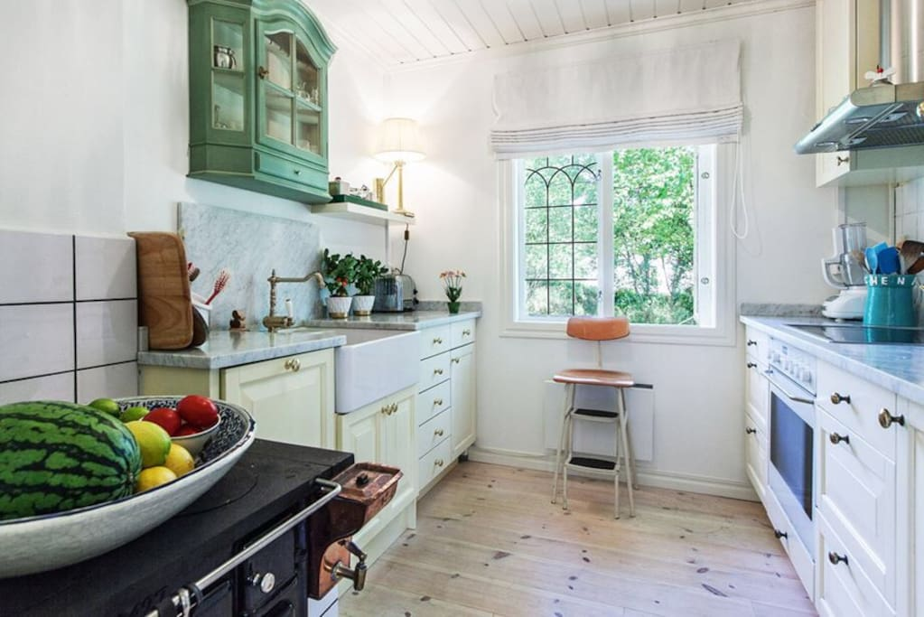 French provincial inspired kitchen