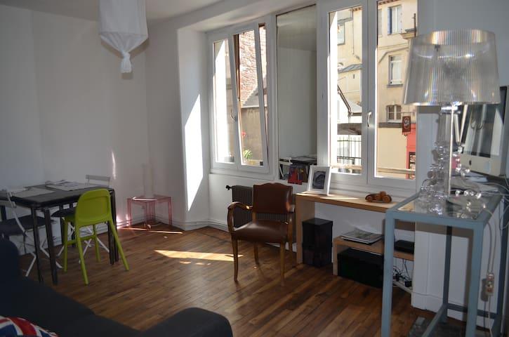 Appart. duplex quartier des Halles - Rennes - Leilighet