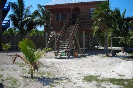 Tranqulia Caye (private cottage) - Caye Caulker - Srub