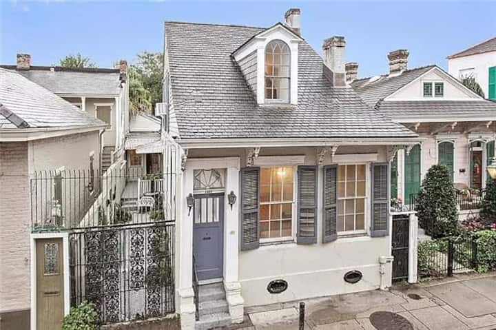 Quintessential French Quarter Cottage