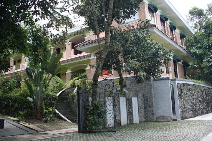 Villa Alicia : a villa in a village - Sleman - Willa