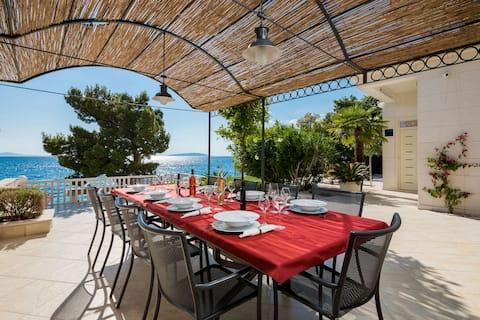 Luxury Seafront Villa Miriam