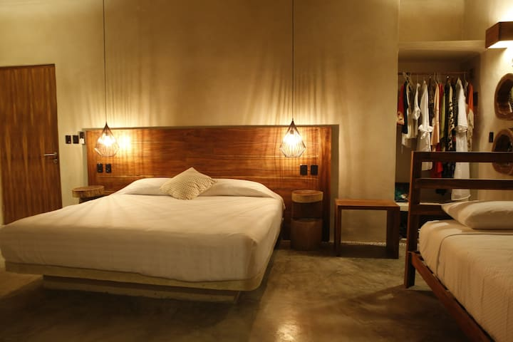 BEST PLACE IN THE HEART OF DOWNTOWN TULUM!!!  (A3) - Tulum - Leilighet