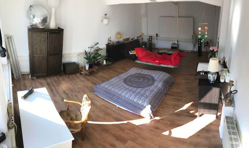 Cozy Factory Loft