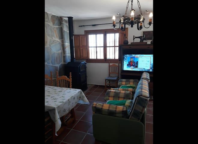 Una casa con vistas en Bubión (Granada)