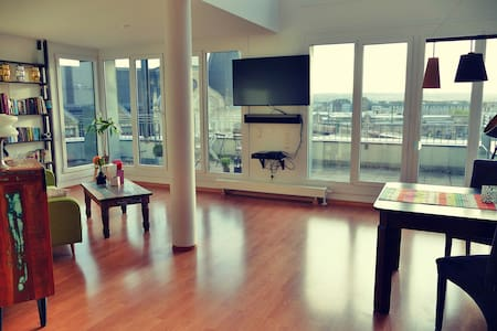 Central, bright apartment with great view - Дрезден - Квартира