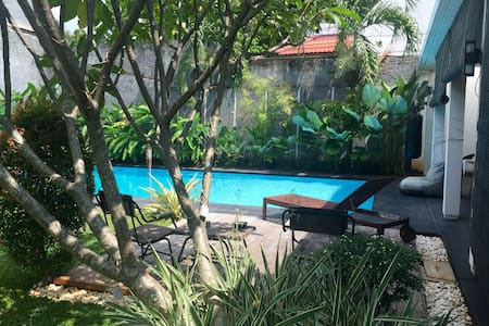 Tropical house in hip expat enclave - South Jakarta