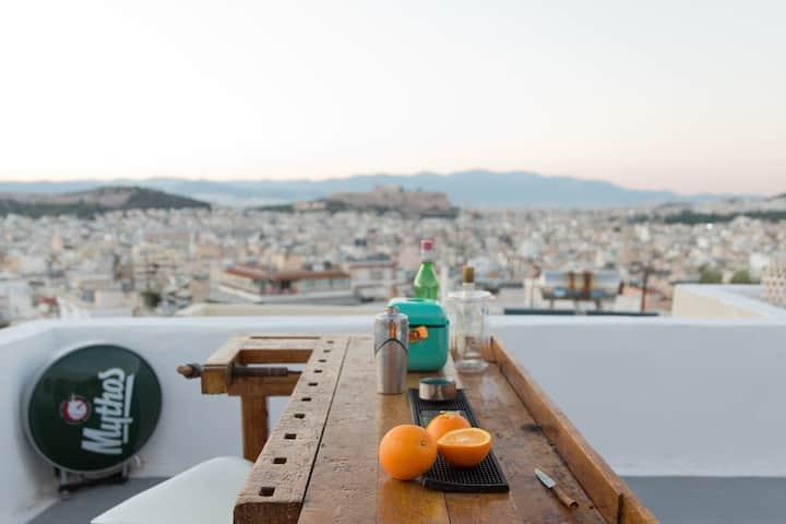 Unique Acropolis view house