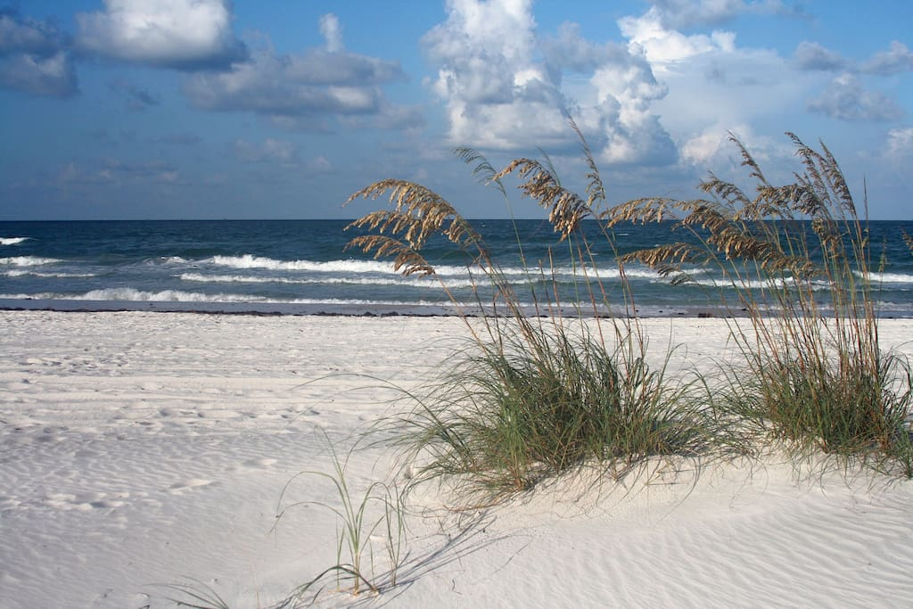 You are located just 3 minutes from the beach