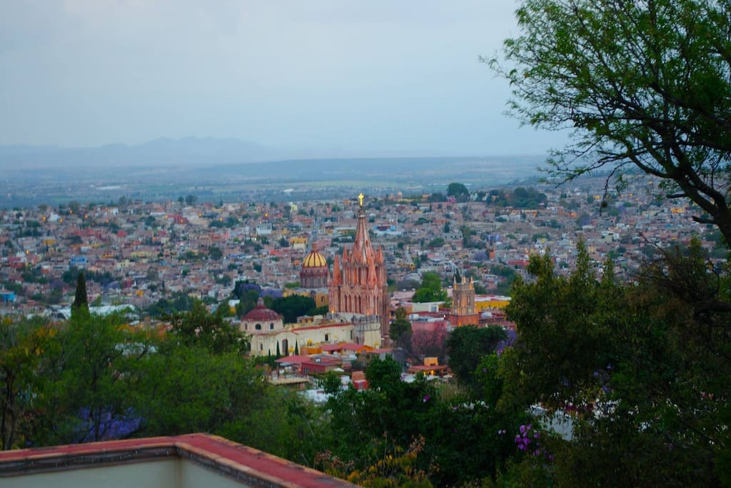 the view from the top of the Casita