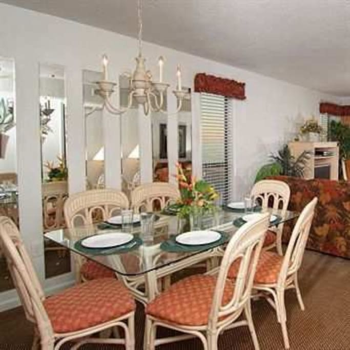 example of dining/family room