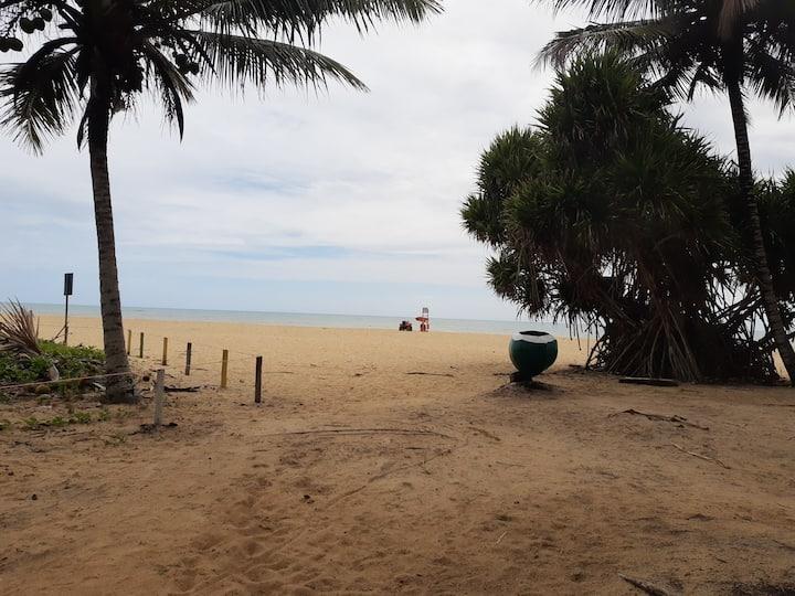 Bangalô 8 - 1 quadra Praia de Guaratiba - Prado/BA