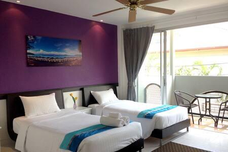 Lovely Rest Deluxe Twin room @Kata - Karon