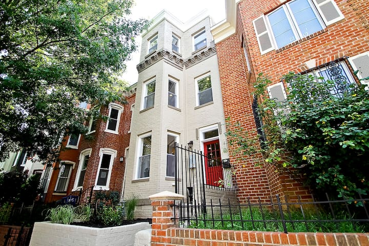 Newly Renovated, Family-friendly D.C. Rowhouse