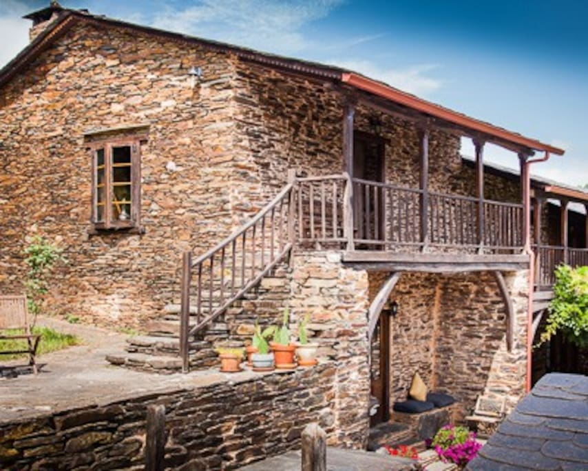 Traditional Galician farmhouse