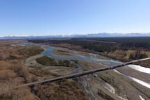 View from above the Historic Balmoral Forestry Lookout