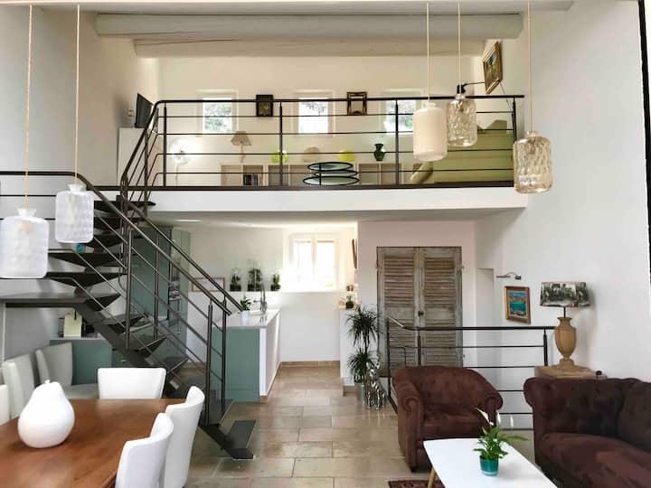 Duplex Amande-Olive, Le Courtil, Moustiers