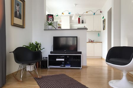 Sun filled 50 m2 apartment in City Center - Tallinn - Lägenhet