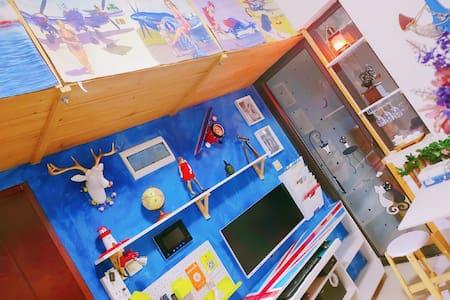 【江畔船坞】-江汉路步行街2#6#线地铁口高层精装江景公寓Ship Zone Apartment