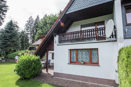 Charming Apartment in Finsterbergen Thuringia with Garden