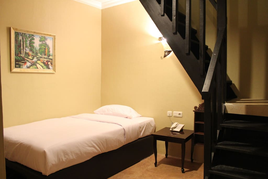 We also have a Family Mezzanine room that fits 3-4 pax!