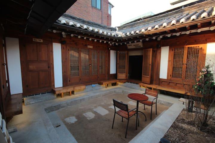 Traditional Hanok room at Bukchon Hanok Village