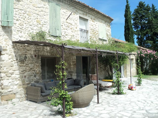 House in Provence, pool, tennis - Monteux - Haus