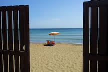 accesso spiaggia