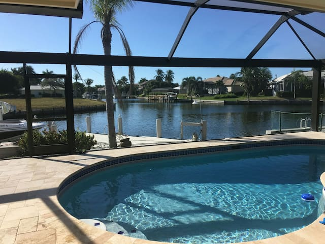 Waterfront house with pool! - Marco Island - House