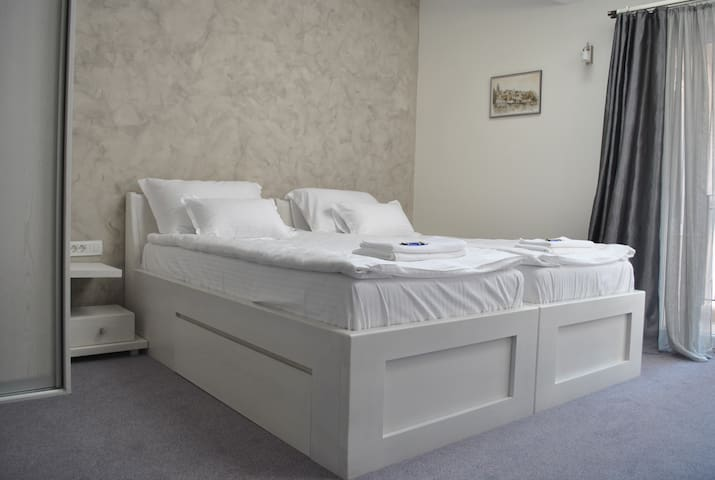 Twin bed room with terrace