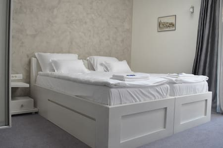 Twin bed room with terrace - Beograd