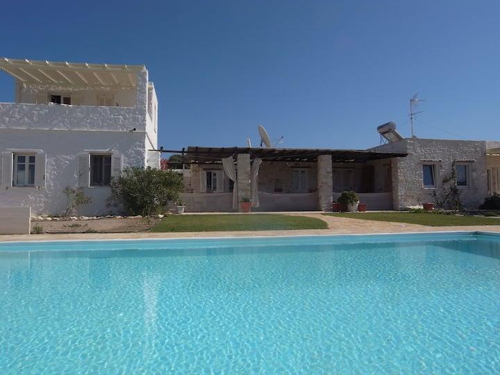 Villa Naoussa, priv. pool